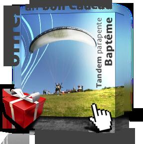 Offrir un bon cadeau de bapt�me de parapente en Ari�ge