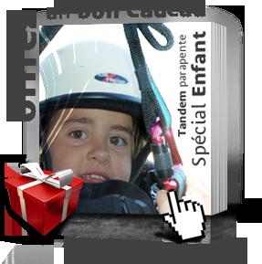 Offrir un bon cadeau de bapt�me de parapente enfant en Ari�ge