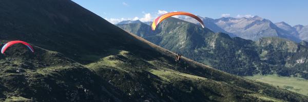 Initiation parapente  4 jours avec vol bivouac en montagne*