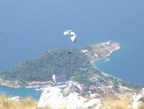 Stage parapente en Croatie Avril 2014