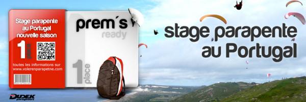 Stage parapente au Portugal du 14 au 20 avril 2018
