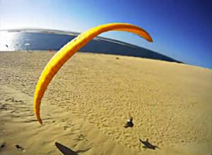 Parapente à la dune du Pyla